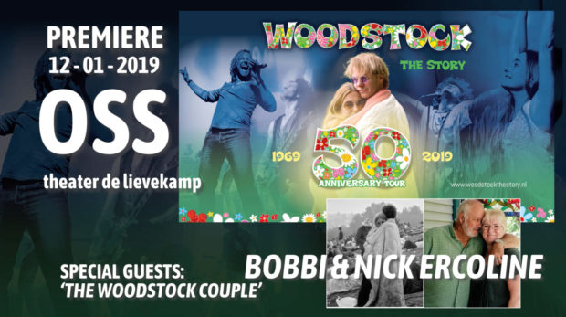Bobbi & Nick Ercoline 'Woodstock Couple' attending premiere Woodstock the Story 21-01-2019
