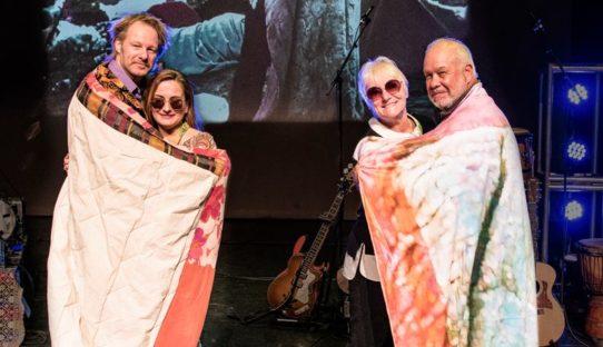 VIDEO: Bobbi en Nick Ercoline Speech at Premiere Woodstock the Story
